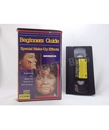 Beginners Guide to Special Make-Up Effects VHS VideoTape Vol 1 Rob Burma... - $14.84