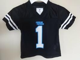 Vtg NFL EUC Carolina Panthers Cam Newton # 1 Replica Football Jersey Youth 2T - $22.18
