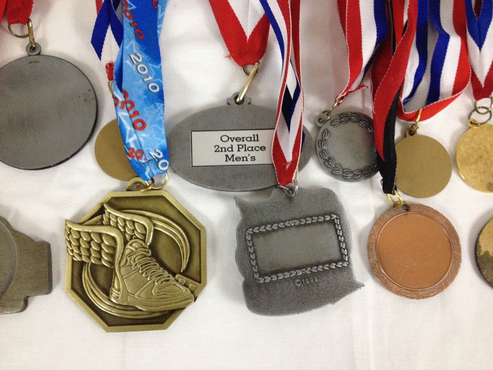 Lot of 14 Running Race Medals Medallions Awards From Various Events image 9