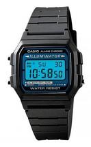 Casio F105W-1A Men's Resin Band Alarm Chrono Blue Light Digital Watch wi... - $15.01