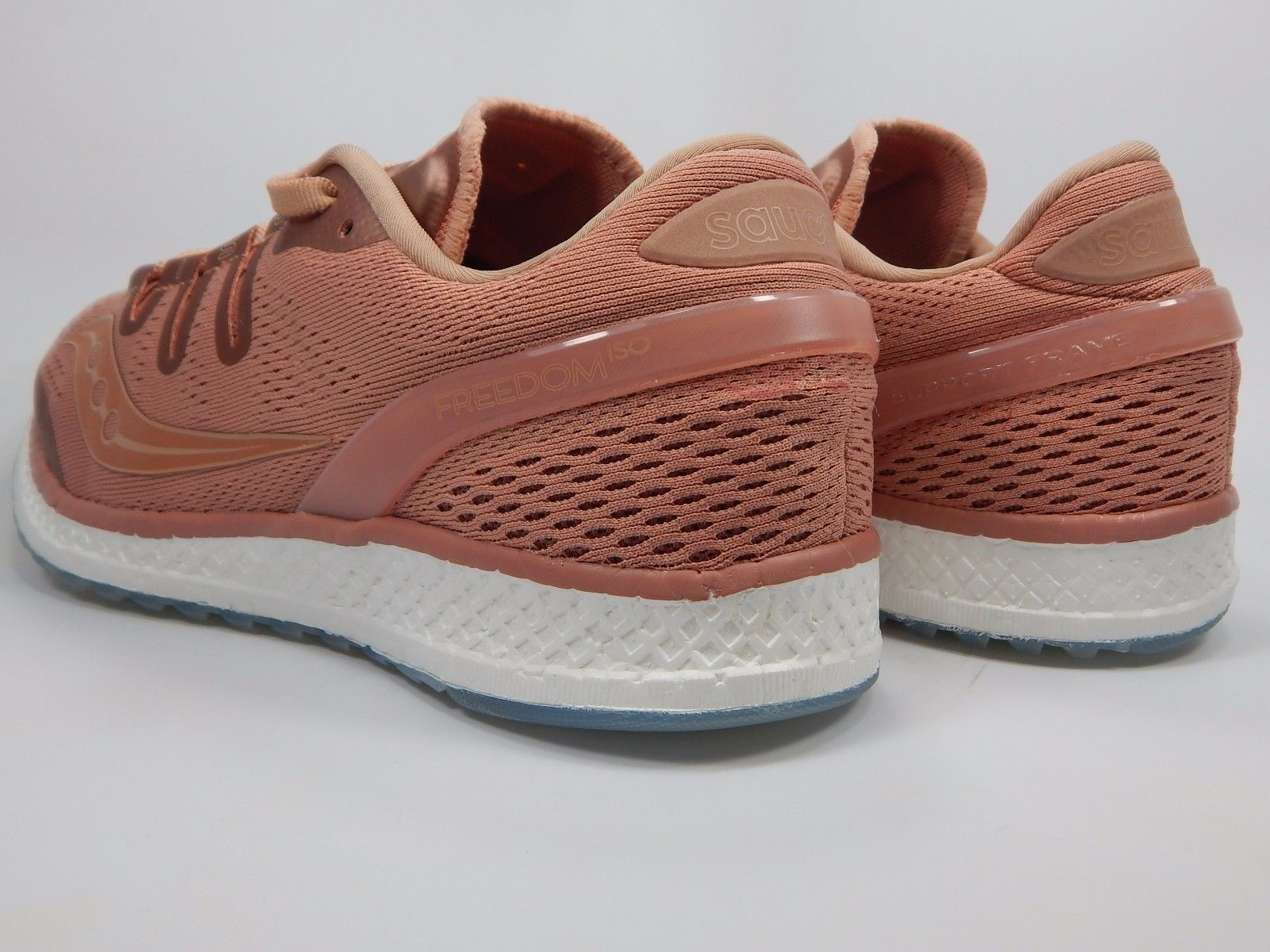 Saucony Freedom ISO Men's Running Shoes Size US 9 M (D) EU 42.5 Salmon S20355-52