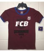 NWT FC Barcelona BARCA Soccer T-SHIRT Football T-shirt women's - $9.99