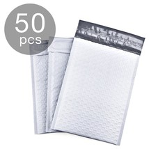 Pack Of 50 Poly Bubble Mailer Padded Envelope Shipping Bag Self Sealing ... - $35.25