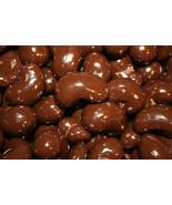 DARK CHOCOLATE CASHEWS, 2LBS - $28.56