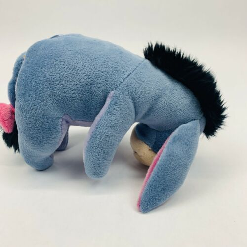 "Disney Winnie the Pooh Plush 7"" Eeyore Donkey Plush Doll Stuffed Animal Toy"
