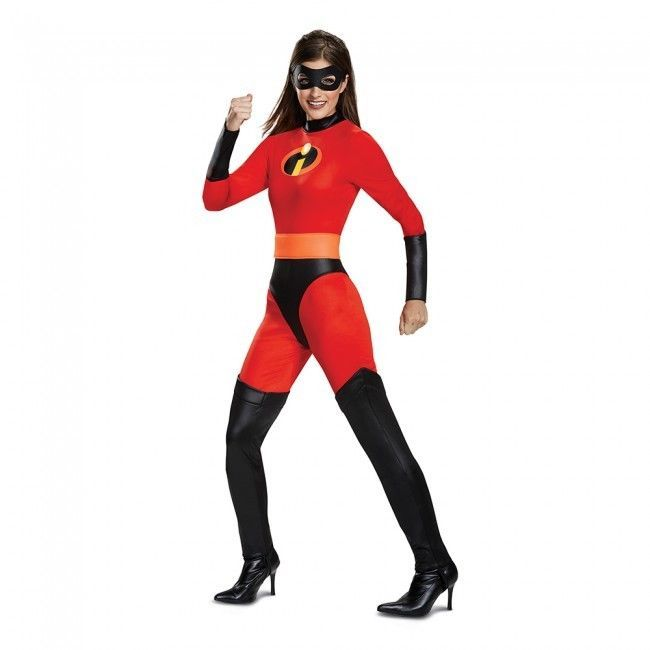 Primary image for Disguise The Incredibles Mrs Incredible Classic Womens Halloween Costume 66835