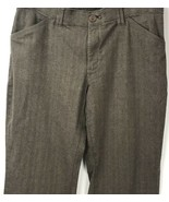 Lee Comfort Fit Waistband Straight Leg Brown Tweed Pants Womens 6 Short ... - $24.74