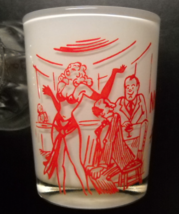 Anchor Hocking Shot Glass My Wife Thinks I'm At A Demonstration of Body English - $13.99