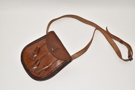 Vintage Sporran leather belt pouch bag Bukta - $67.68