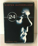 24 Complete Series Season 2 Two DVD TV Drama Starring Kiefer Sutherland - $9.99