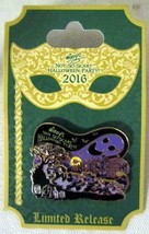 2016 Disney Mickey's Not So Scary Halloween Party Event Logo Pin Limited Release - $19.79