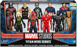 New Marvel Titan Hero Series Mega Collection 11-Pack - Captain America, ... - $158.00