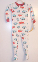 Just One You by Carter's Toddler Boy Cars Sleeper No Slip Feet Size 2T NWT - $8.14