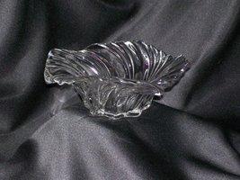Mikasa Centerpiece - Belle Epoque - Clear Swirl Bowl Vase - Walther Glas... - $45.00