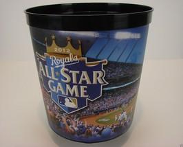 2012 MLB All Star Game At Kansas City Royals Popcorn Bucket - Hard To Find - $49.49