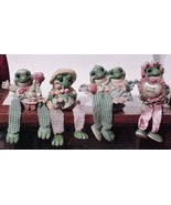 Frog Legs by Enesco Set of 4 Designed by  Cindy... - $29.65