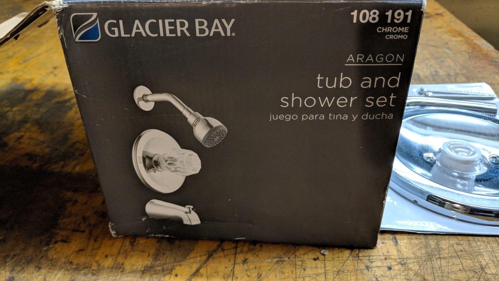 GLACIER BAY 108191 ARAGON TUB / SHOWER FAUCET 874-0101