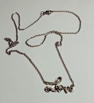 pretty love pendant and chain - $59.95