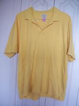 EUC $49  Xlarge XL MENS VAN HEUSEN Golden Summer Cotton Yellow POLO Dres... - $9.99