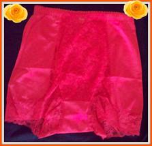 S Small Rhonda Shear Bt Orange Shabbie Chic Lace Control Brief Pantie Boyshort - $9.99
