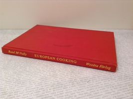 Vintage European Cooking Cook Book 1958 Printed in Sweden Excellent Condition
