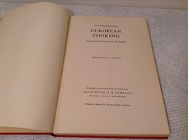 Vintage European Cooking Cook Book 1958 Printed in Sweden Excellent Condition image 2