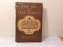 The Art of Fine Baking Cook Book 1961 by Paula Peck image 1