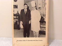The White House Chef Cook Book by Rene Verdon 1968 First Edition image 8