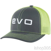 Evoshield Evo Flash Flex Fit Trucker Hat Baseball Cap Charcoal/Neon 1037320 - $24.95