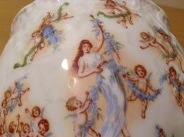 Vintage Victoria Carlsbad Austria Porcelain Kitchen Canister Cookie Jar with Lid image 7