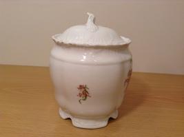 Vintage Victoria Carlsbad Austria Porcelain Kitchen Canister Cookie Jar with Lid image 3