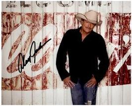 ALAN JACKSON  Authentic Original SIGNED AUTOGRAPHED PHOTO w/ COA 342 - $90.00