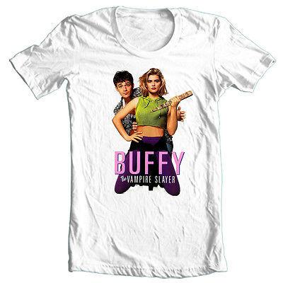 Buffy the Vampire Slayer T shirt retro '90's monster movie cotton graphic tee