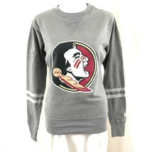 NCAA Florida State Seminoles Womens Sweatshirt Crew Neck Gray Size XS - $14.50