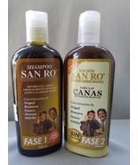 SAN RO Gray Hair Shampoo & Hair Lotion Coloring Treatment~Herbal Extract... - $28.99