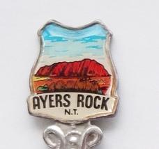 Collector Souvenir Spoon Australia Northern Territory Ayers Rock Enamel - $16.99