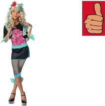 Monster High - Costume - Lagoona Blue - Child - Medium - Officially Lice... - $18.80