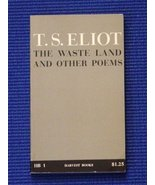 The Waste Land and Other Poems [Paperback] by Eliot, T. S. - $1.96