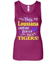 This Louisiana Cutie Loves Her Tigers Tank Top - $21.99+