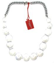 Necklace Antique Murrina, CO833A02, Chain Groumette, Discs, White Pearl image 2