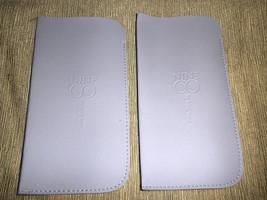 Nine & Co By Nine West Lavender Eye Glass Case Set 2 #9COCASE - $5.94