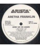 """Here We Go Again 12 Inch (12"""" Vinyl Single) US Arista 1998 [Vinyl] Areth... - $5.39"""