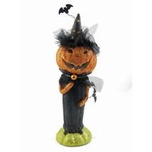 Pumpkin Witch At The Halloween Ball Halloween D... - $59.31
