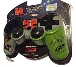 PS3 Nascar Controller Faceplate Nascar 88 Dale Earnhardt Jr Mad Catz Green  - $19.99