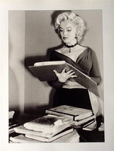 Marilyn Monroe Pin Up Poster How To Be Sexy Reading A Book! Rare Photo! - $6.89