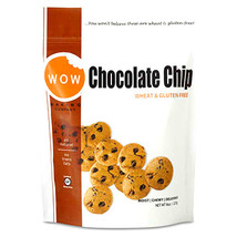 2 Packs - WOW Bakery CHOCOLATE CHIP Premium Gluten/GMO/Wheat Free Cookie... - $19.99