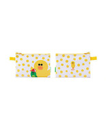 LINE Friends Dot SALLY Vinyl Pouch(S) Naver App Character Cosmetic Bag C... - $16.81
