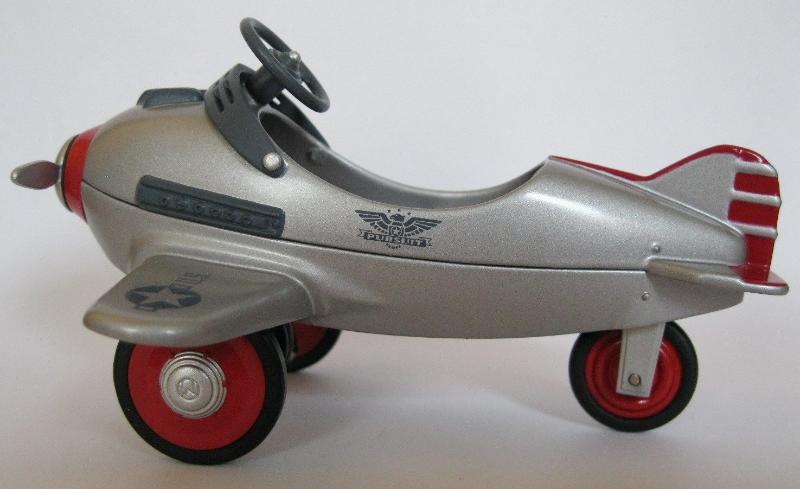 Hallmark Keepsake MURRAY KIDDIE CAR AIRPLANE Ornament - 1996