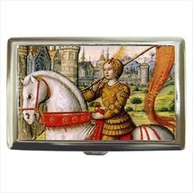 Joan Of Arc Cigarette Money Case - $12.56