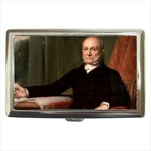John Quincy Adams Massachuetts Cigarette Money Case - $12.56